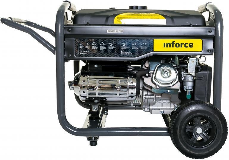 Фото Inforce Генератор бензиновый GL 7500 04-03-17