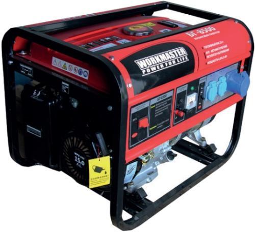 Фото Бензиновый генератор БГ-8500E1 Workmaster