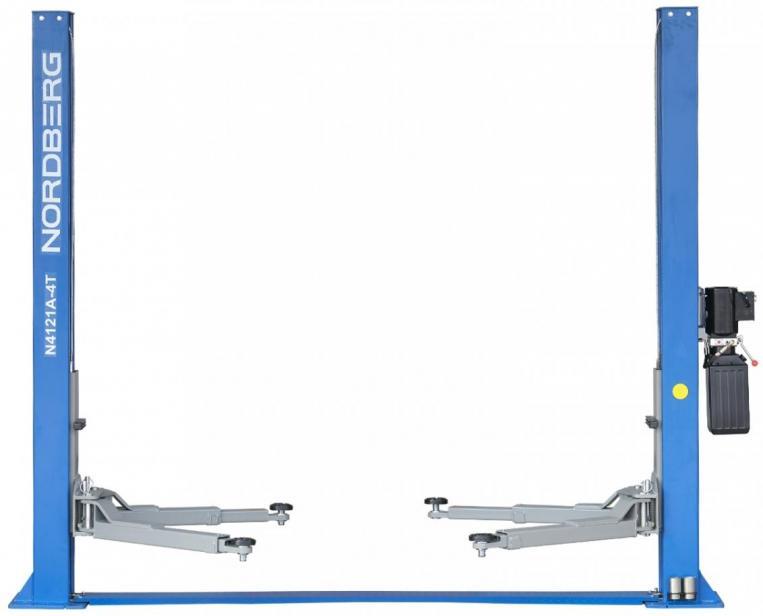Фото Двухстоечный подъемник 4 тонны NORDBERG N4121A-4T 380В