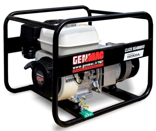 Фото Генератор бензиновый GenMac CLICK RG4000HO Открытая