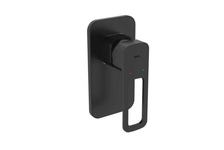 Фото Встраиваемый смеситель с одним выходом черный IDDIS Slide (SLIBL00i66)
