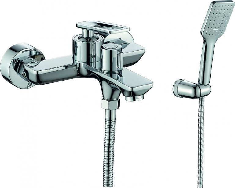 Фото Смеситель для ванны с душем  RUSH Palm (PL2530-44)