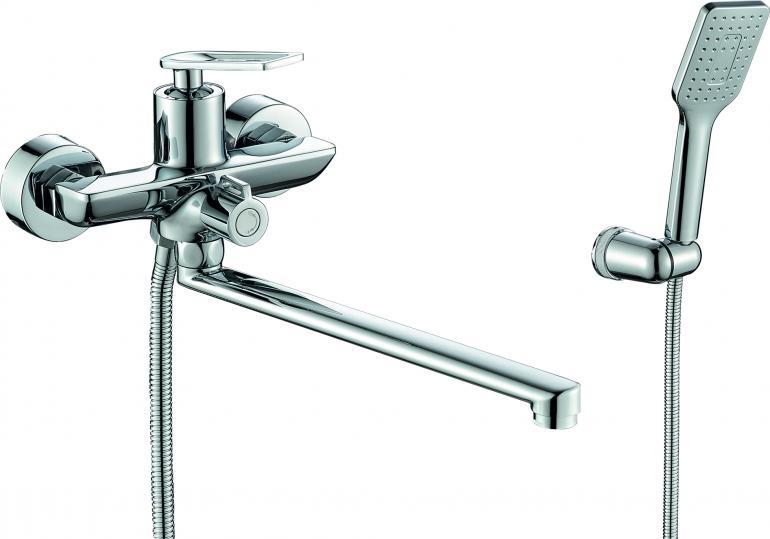 Фото Смеситель для ванны с душем  RUSH Palm (PL2530-51)