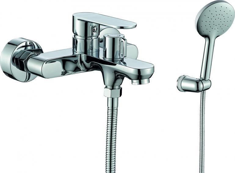 Фото Смеситель для ванны с душем  RUSH Luson (LU1630-44)