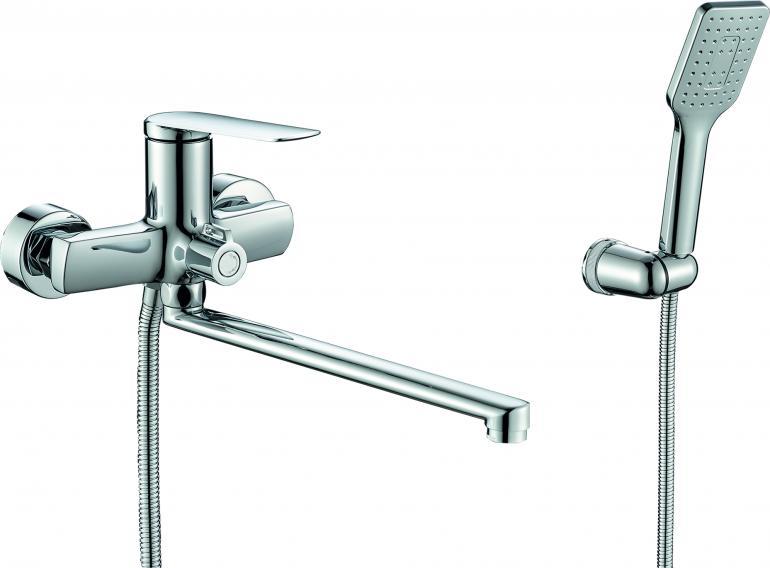Фото Смеситель для ванны с душем  RUSH Bering (BE5535-51)