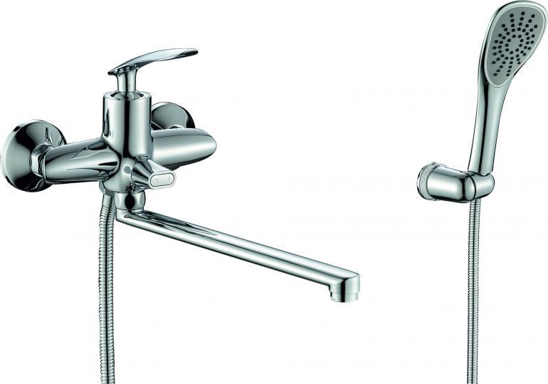 Фото Смеситель для ванны с душем  RUSH Island (IS6535-51)