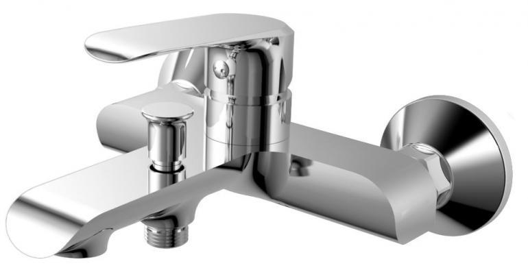 Фото Смеситель для ванны с душем  RUSH Gozo (GZ3735-44)