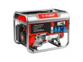 Бензиновый генератор ЗУБР ЗЭСБ-6200 (5700 Вт)